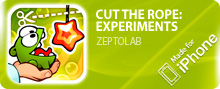 ������� CUT THE ROPE: EXPERIMENTS ��� iPhone/iPod Touch/iPad ���������