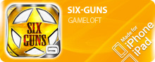 ������� SIX-GUNS ��� iPhone/iPod Touch/iPad ���������