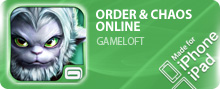 ������� Order & Chaos Online ��� iPhone/iPod Touch/iPad ���������