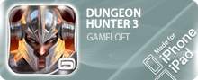 ������� DUNGEON HUNTER 3 ��� iPhone/iPod Touch/iPad ���������
