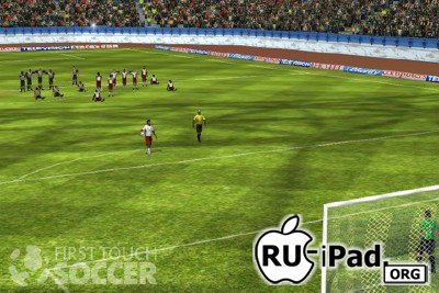 First Touch Soccer v1.31 [ipa/iPhone/iPod Touch]