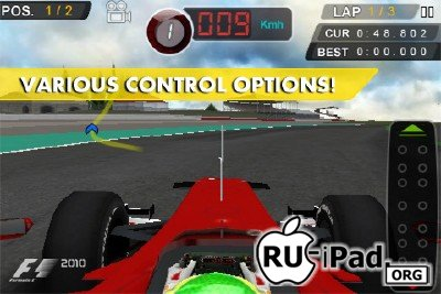 F1 2010 Game v1.0.1 [ipa/iPhone/iPod Touch]