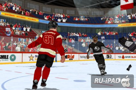 Hockey Fight Pro 1.6.2 [ipa/iPhone/iPod Touch/iPad]