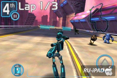 Скриншоты игры Robot Race для iPhone, iPod, iPad. Игровой процесс Robot Ra