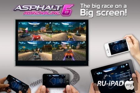 Asphalt 6: Adrenaline [1.3.8] [ipa/iPhone/iPod Touch]