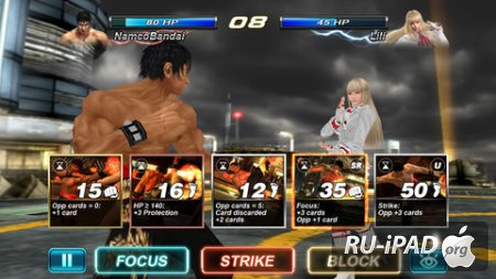 Tekken Card Tournament [1.030][ipa/iPhone/iPod Touch/iPad]