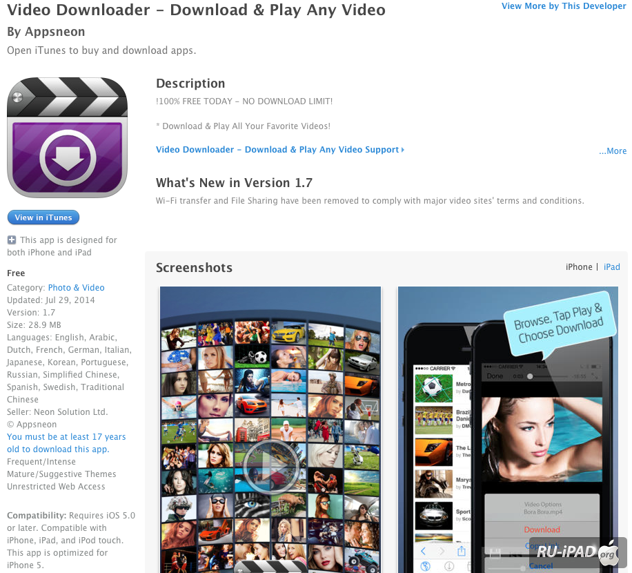 VDownloader - Free YouTube Downloader Video